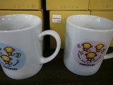 陶器三ざるマグカップ